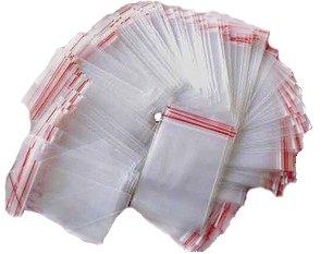 Pressione chiusura sacchetto/sacchetti in diversi misure e quantità (500 pcs 60 x 80 mm)