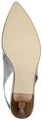 Tamaris Schuhe 1-1-29608-28 bequeme Damen Sling, Sommerschuhe für modebewusste Frau, Light Grey