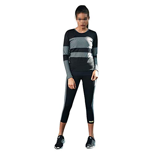 Sweatshirt Long Femmes + Pantalon Ensemble Dames 2 Pcs Survêtement  Survêtement Survêtement Joggings Costume Sport Wear 4c4acdd0353