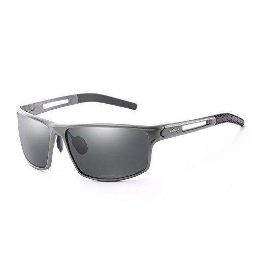 IGnaef Gafas sol deportivas polarizadas hombres esquiar