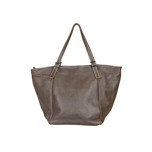 FKYNB Literary Umhängetasche, Reisetasche, Umhängetasche, große Kapazität, Handtasche, 2019, einfache Wildledertasche, Sommer, weibliche Modelle, können Sie kleine Gegenstände mitnehmen, braun