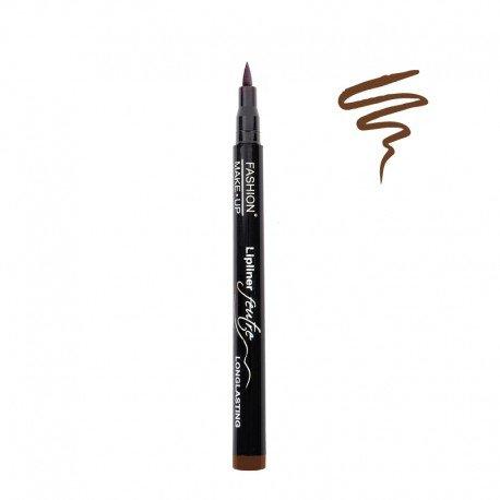 Fashion Make-Up FMU1220403 Feutre à Lèvres Longue Tenue N°3 Chocolat