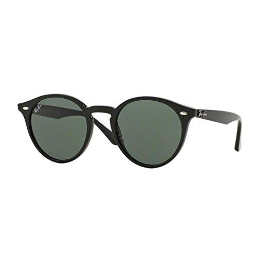 Ray Ban Herren Sonnenbrille RB2180 Gestell: schwarz, Gläser: grau-grün 601/71), Medium (Herstellergröße: 51)