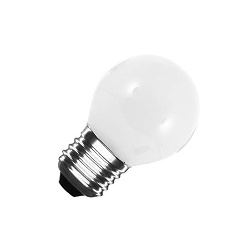 Bombilla LED E27 G45 Glass 4W Blanco Frío 6000K-6500K
