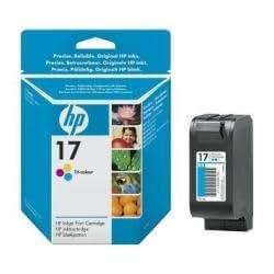 HP 17 Pack de Cartouches d'encre Cyan/Magenta/Jaune