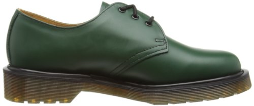 Dr. Martens 1461 Smooth 1461 Pw, Chaussures à lacets mixte adulte Vert (Green)