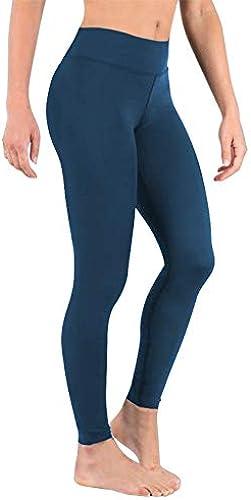 DeepTwist Damen Hohe Größen Yoga Leggings Sport Trainings Hosen Laufen Yogapants