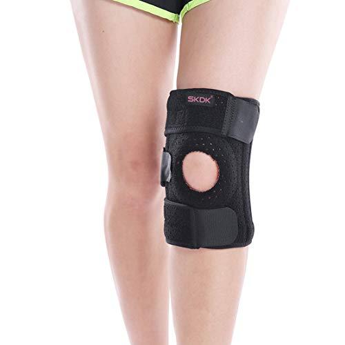 HIOD Kniebandage für Damen Stabilisator für offene Patella Arthritische Schmerzlinderung Sportverletzung Rehabilitation