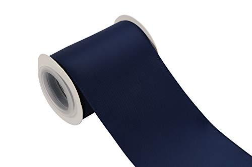 ITIsparkle - Cinta raso doble cara 75 mm ancho, 4,5
