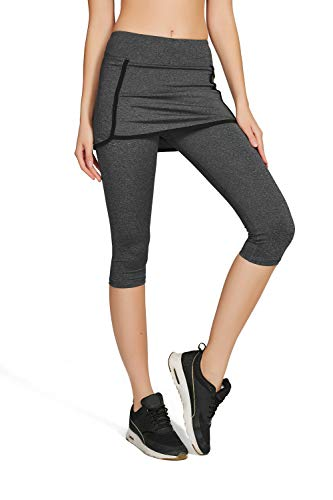 Zoom IMG-2 honoursport donna pantalone capri leggings