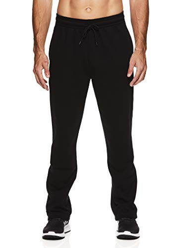 HEAD Herren Jogginghose Relaxed Fit - Performance Athletic Workout Sweatpants - Schwarz - Klein