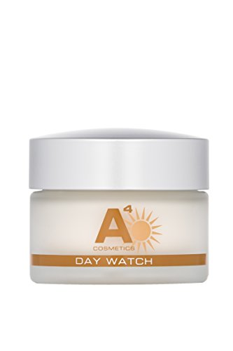 A4 - DAY WATCH Anti-Aging Tagespflege mit SPF 20 | Gesichtspflege mit Sonnenschutz | beugt Hautalterung, Falten und Feuchtigkeitsverlust vor (50ml)