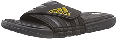 adidas Adissage UltraFOAM+, Herren Slipper, Schwarz (Core Black/Dgh Solid Grey/Raw Ochre F15), 39 EU