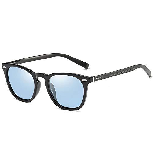 JIANG Polarisierte und polarisierte Sonnenbrillen, stilvolle Nachtsichtgeräte, Aluminium- und Magnesium-Sonnenbrillen, Sonnenbrillen für die meisten Outdoor-Sportarten,C
