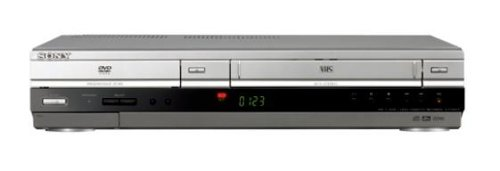 Sony SLV-D 980 P/S DVD-Player/VHS-Rekorder-Kombination Silber (Vhs-player, Dvd)
