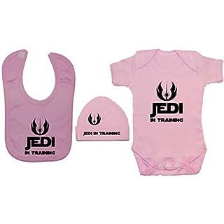 Acce Products Baby Jungen (0-24 Monate) Bekleidungsset, Einfarbig Gr. 0-3 Monate, Rosa - Pink