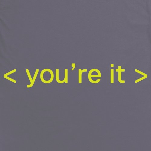 Tag T-Shirt, Herren Anthrazit