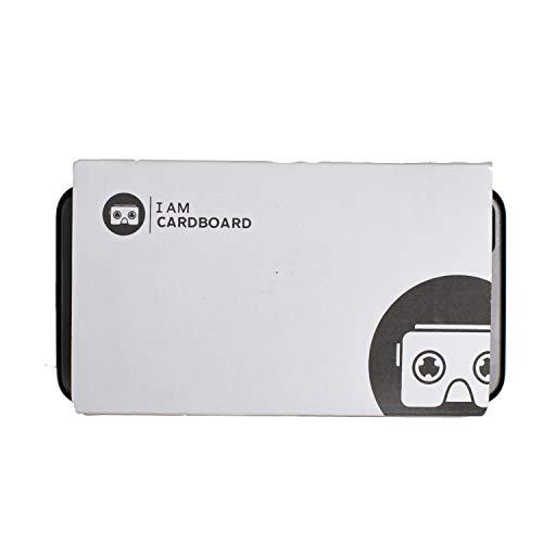 I AM CARDBOARD VR Box | Visore VR Smartphone per iPhone e Android | Dispositivo Realtà Virtuale Ispirato al Cardboard Google V2 | VR Headsets |Accessori Cellulare per Regali Originali