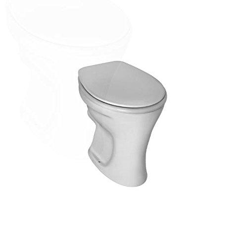 Preisvergleich Produktbild Stand-Flachspül-Klosett EUROVIT weiss