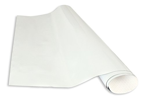 selbstklebende magnetische Whiteboardfolie 50x100 - weiß -