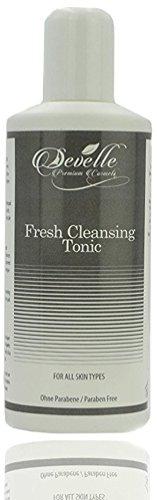 Develle Reinigungs Tonic 200 ml. I Zur Haut Reinigung I Erfrischendes und beruhigendes Cleansing Tonic I Gesichtsreiniger