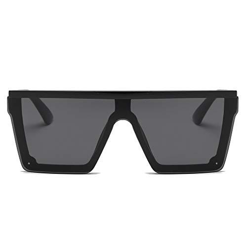 BoburyL Männer Frauen Aufmaß Sonnenbrille Fahren Coole Sonnenbrillen Platz Male UV-Resistent Vintage-Brillen