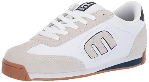 Etnies LO-Cut II LS, Chaussures de Skateboard Homme, White/Navy/Gum, 39 EU