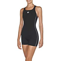 ARENA Women Sports Swimsuit Combi-Short Finding, Costume da Bagno Donna, Nero, 32