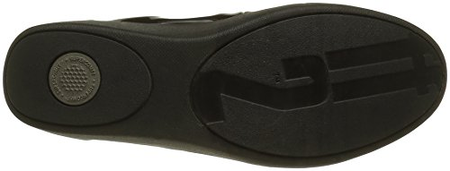 FitFlop F Pop Tm Ballerina, Ballerines Femme Black (All Black)