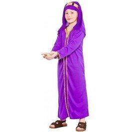 CHILDS NATIVITY WISE MAN MELCHIOR CHRISTMAS FANCY DRESS COSTUME (3 Wise Man Kostüm)