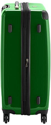 HAUPTSTADTKOFFER - Alex - Hartschalen-Koffer Koffer Trolley Rollkoffer Reisekoffer Erweiterbar, 4 Rollen, 75 cm, 119 Liter, Grün - 4