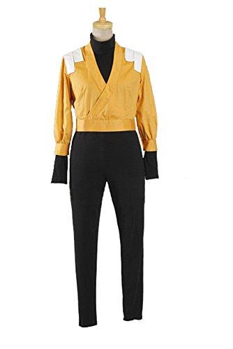 Bleach 2nd Division Former Captain Yoruichi Shihoin Cosplay Kostüm Herren XL (Bleach Yoruichi Cosplay Kostüm)