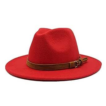 Fedora Hats Wide Brim Autumn Female Top Jazz Cap Winter Wool for Women Chapeau Femme Black Hats for Men