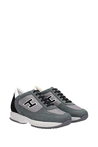 HXM00N0Q102C5K777W Hogan Sneakers Homme Chamois Gris Gris