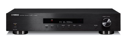 Yamaha T-S500 Tuner radio FM/AM 40 stations mémorisables Noir