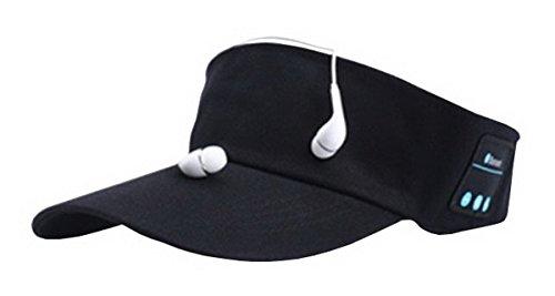 Mecoco Unisex Sports Bluetooth Visor (Herren-ring Profil-logo)