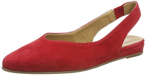 Tamaris Damen 1-1-29406-22 Slingback Pumps, Rot (Lipstick 515), 37 EU Damen Slingback Schuh