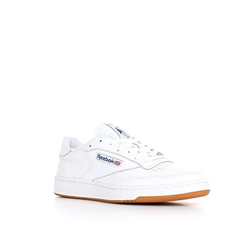 Reebok Club C 85, Scarpe Indoor Multisport Uomo White