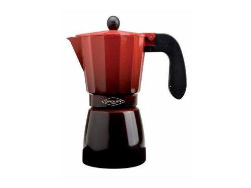 Oroley 215070500 - Cafetera 12 tazas, inducción, color rojo