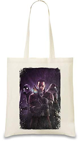 Das Messer von Dunwall Daud Dishonored - Dishonored The Knife Of Dunwall Daud Custom Printed Tote Bag| 100% Soft Cotton| Natural Color & Eco-Friendly| Unique, Re-Usable & Stylish Handbag For Every Day