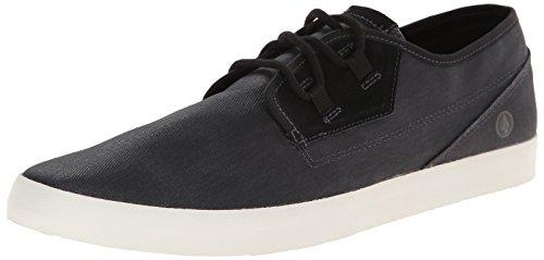Volcom - Delphi Shoe, Scarpe da Skateboard Uomo Schwarz (Black Destructo / Bkd)