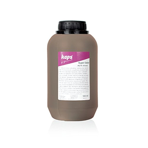 Kaps Super Color Lederfarbe für Naturleder, Synthetik und Textil, Lederfärber, 500 ml Color...
