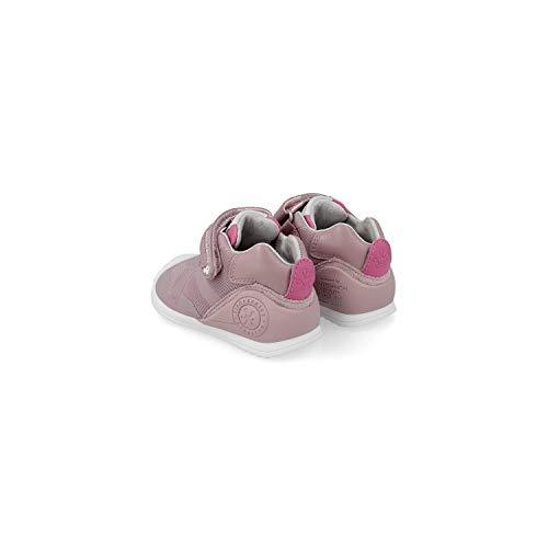 Biomecanics 191168, Zapatillas de Estar por casa Bebé Unisex, Rosa Rosa Rejilla B, 23 EU