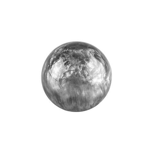 Schaltknauf Einfach zu installieren Marmor Stil Nicht Verblassen Auto Glatt Manuell Mit Adapter Runde Styling Driving Interior Nebula Pattern Ersatz(Kein AdapterGrau)