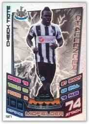 Match Attax 2012 2013 Cheick Tiote Hundred 100 Club Newcastle 12 13