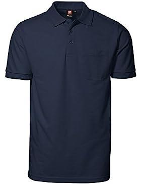 Pro Wear Poloshirt mit Tasche für Herren