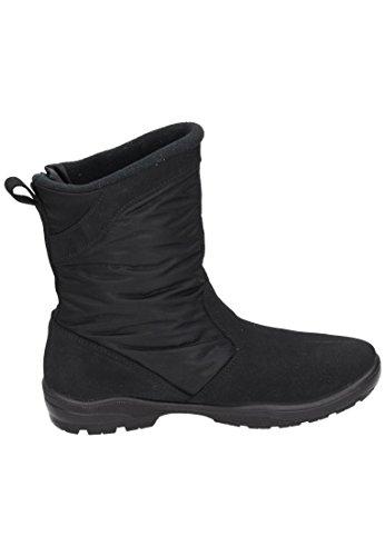 Manitu Damen Stiefel schwarz, 990978-1 schwarz