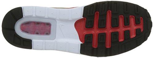 Nike Herren Air Max 1 Ultra 2.0 Essential Sneaker Rot (University Red/black White)