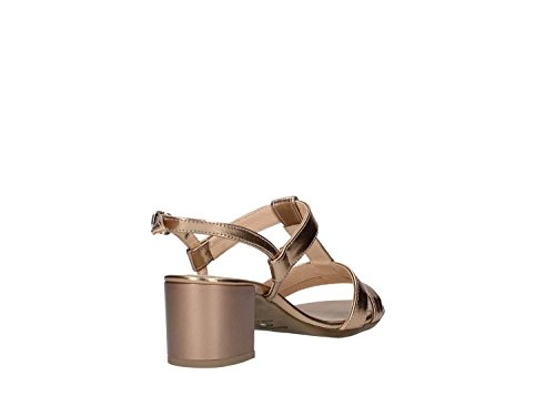 Nero Giardini P717610d Sandalo Tacco Donna Champagne
