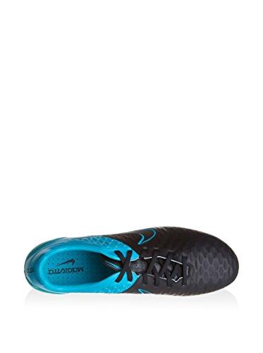 NIKE Magista Opus Leather SG–Pro 768892–004de BLACK/BLACK-TRQS BLUE-TRQS BL